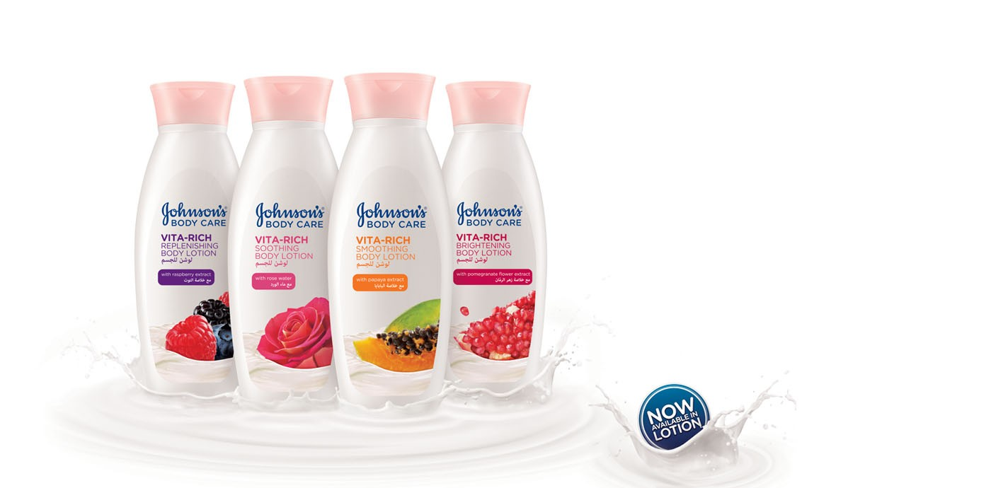 Johnson Skin Care Middle East Woman Beauty Products